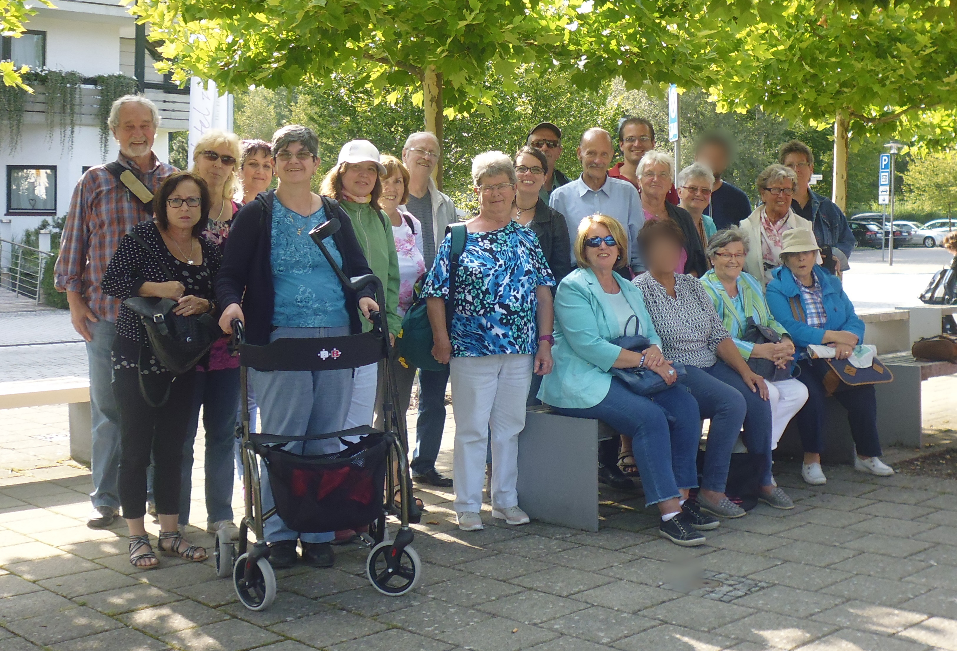 Dank einer Spende von Inter Trempes Mering konnte die Tagesstätte für psychische Gesundheit einen Ausflug zum Ammersee unternehmen.