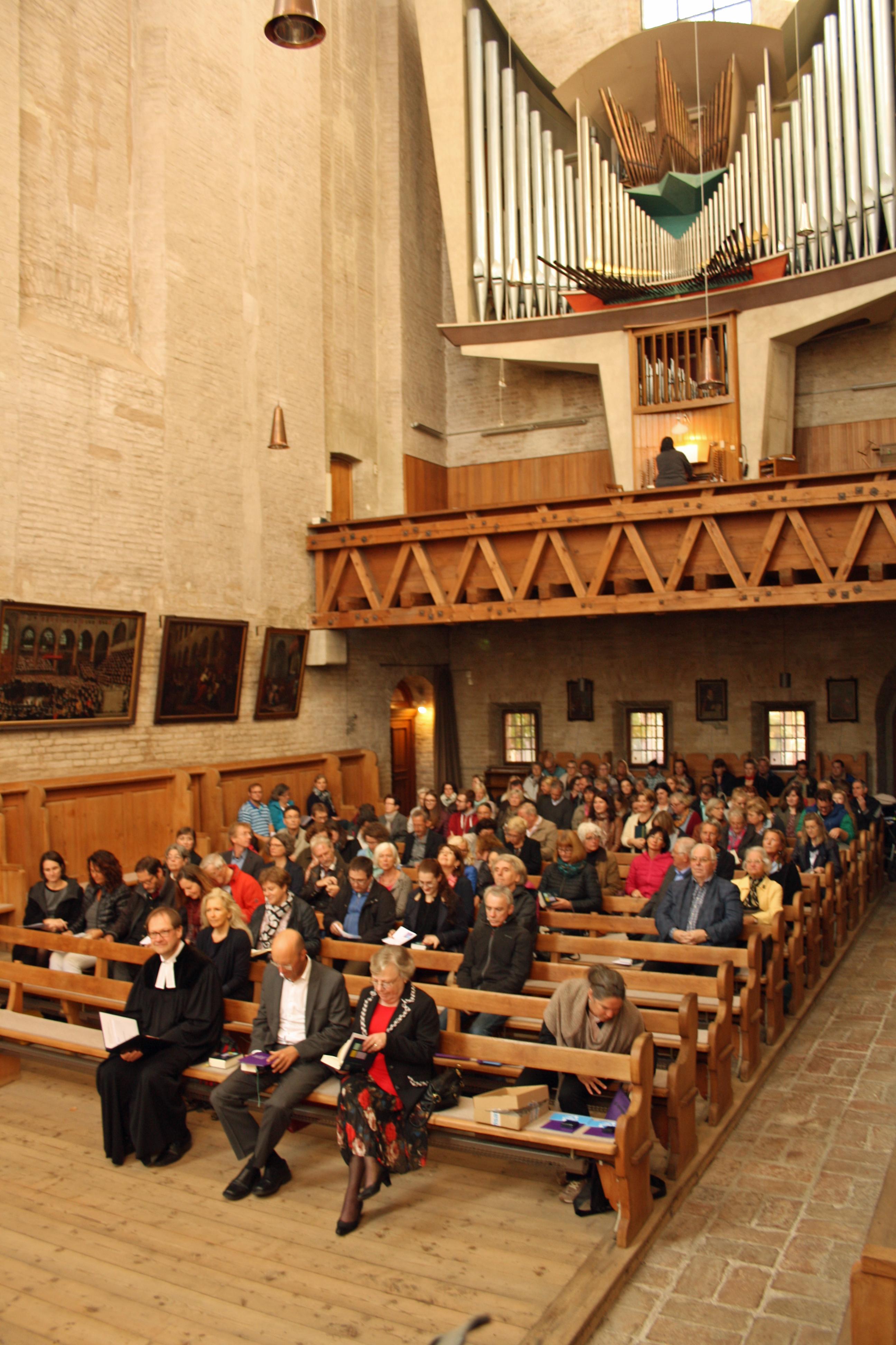 Der diesjährige Jahresgottes fand in der Kirche zu den Barfüßern statt.